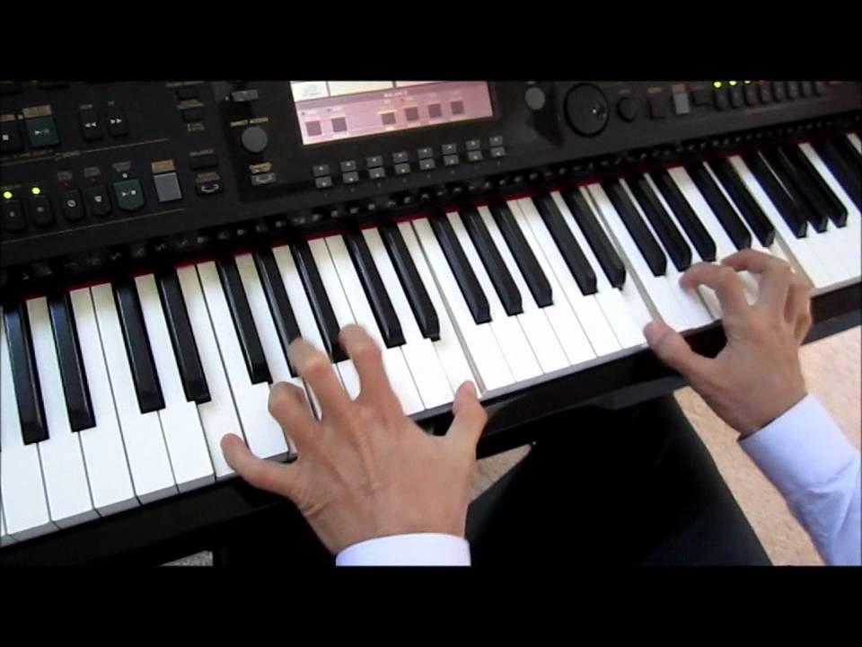 how to play rocky theme song on piano