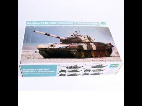 Kit Review: Trumpeter Russian T 72B1 /w kontakt-1reactive armor 09555