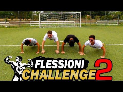 FLESSIONI CHALLENGE 2.0 w/ IlluminatiCrew