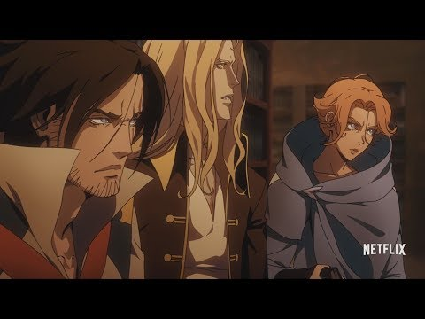 Season 2 of Castlevania on Netflix has a new trailer