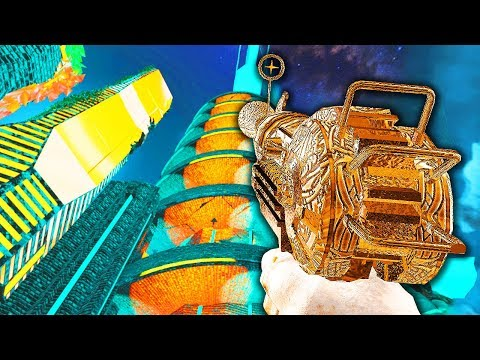 TRON TOWERS ZOMBIES CHALLENGE! *VERY HARD* (Call of Duty Bla