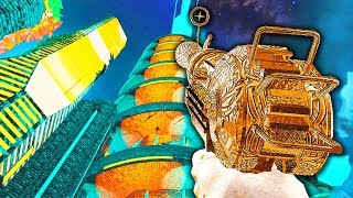 TRON TOWERS ZOMBIES CHALLENGE VERY HARD Call of Duty Black Ops 3 Custom Zombies