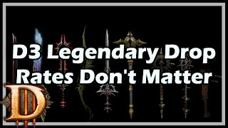 [Diablo 3] D3 Legendary Drop Rates & Why They Don't Matter