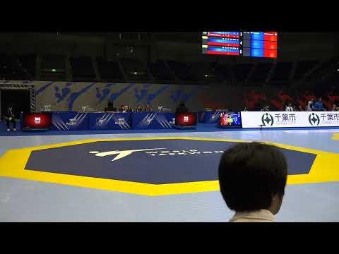Chiba 2019 World Taekwondo Grand Prix Day 3 Court 1 Session 2