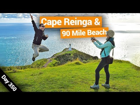 Bus Tour To Cape Reinga & Ninety Mile Beach – New Zealand's Biggest Gap Year – BackpackerGuide.NZ