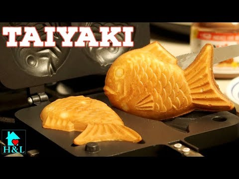 How To Make Taiyaki Recipe (Fish-Shaped Cake Recipe) || Health And Lifestyle