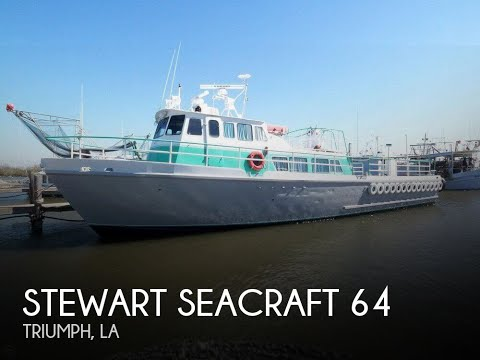 Used 1963 Sewart Seacraft 64 Crew Boat for sale in Buras, Louisiana
