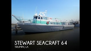 Used 1963 Stewart Seacraft 64 Crew Boat for sale in Buras, Louisiana