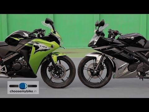 Honda CBR 150R v/s Yamaha YZF R15