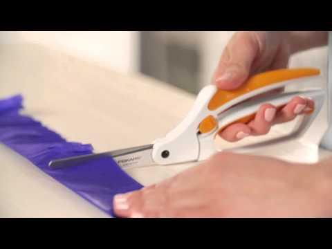 Fiskars® Easy Action™ Scissors for Paper, Fabric & More