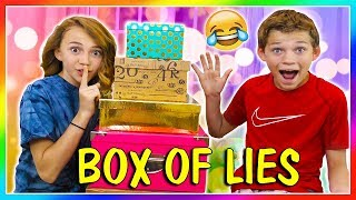 BOX OF LIES | SOMEONE WILL BE PUNISHED | We Are The Davises