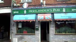 The Highlander Bar, Albert, France