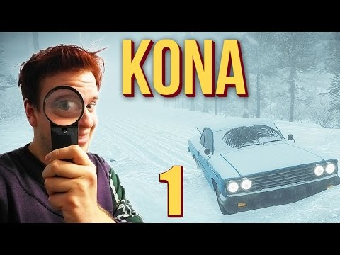 I'm a Detective, Found a DEAD BODY. KONA Gameplay | Part 1