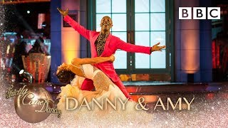 Danny John-Jules & Amy Dowden dance the Foxtrot to Top Cat (Theme) - BBC Strictly 2018
