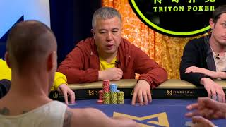 NEW TRITON POKER 2018 Super High Roller Series Montenegro | HK$1 Million Main Event, Day 2 | Part 2