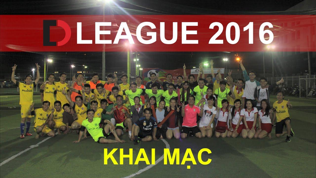 Di Động Việt – Khai mạc Giải Bóng đá D-League 2016