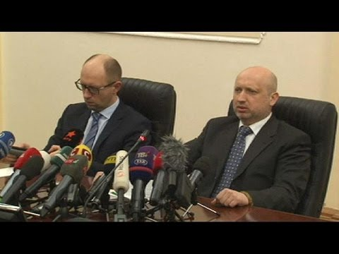 "Acting Ukraine President compares Vladimir Putin to ""fascists of last century"""
