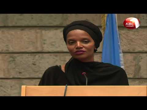 Umra Omar from Lamu County has been named the 2017 United Nations Person of the Year in Kenya