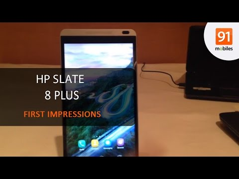 HP Slate 8 Plus: First Look | Hands on | Price