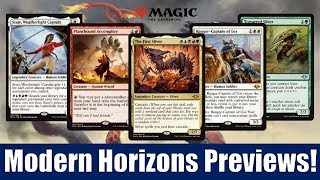 MTG Modern Horizons Previews: 20 Cards Including The First Sliver