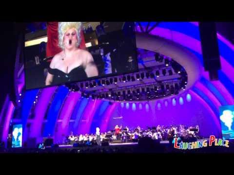 """The Little Mermaid Live in Concert: Rebel Wilson """"Poor Unfortunate Souls"""""""