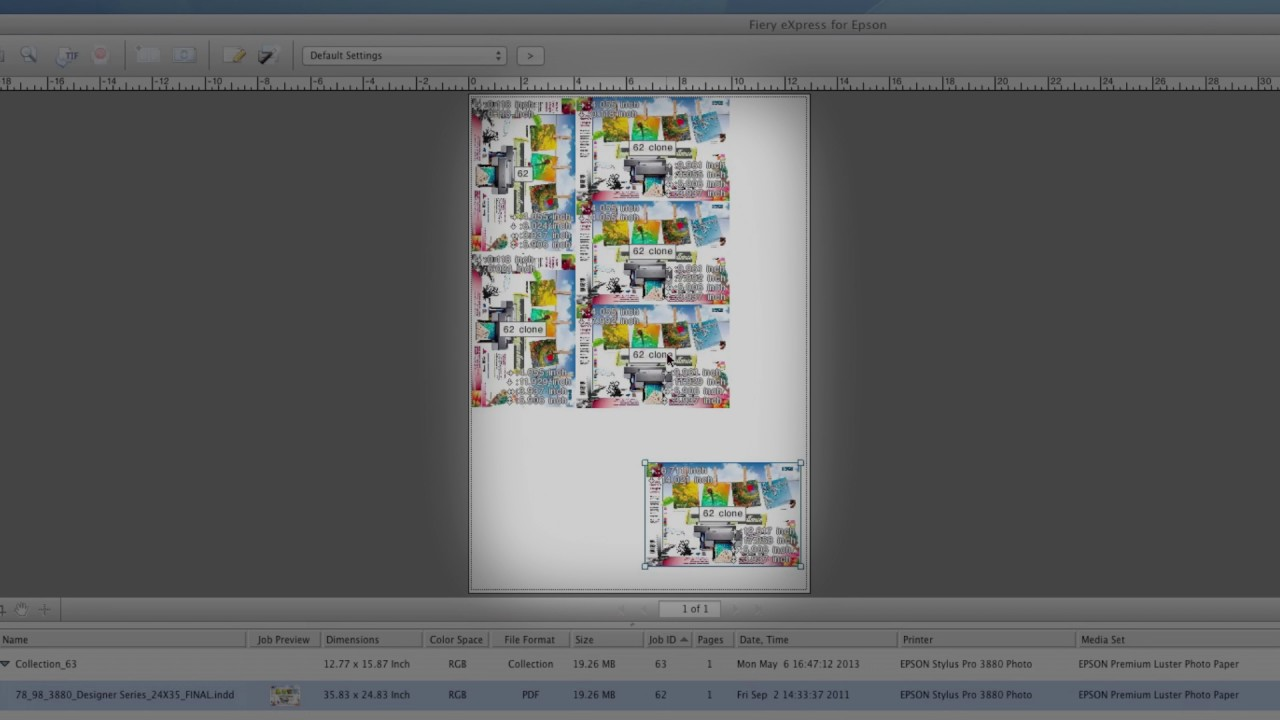 EFI eXpress for Epson - Software Overview