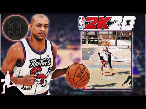 99 OVR VINCE CARTER Build Is A HIGHLIGHT REEL In NBA 2K20! CRAZY CONTACT DUNKS!!
