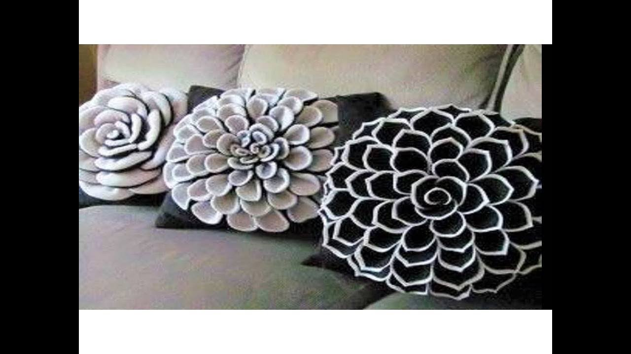 DIY Decorating ideas | Cushion Cover idea | Smocked Pillow Cover ...