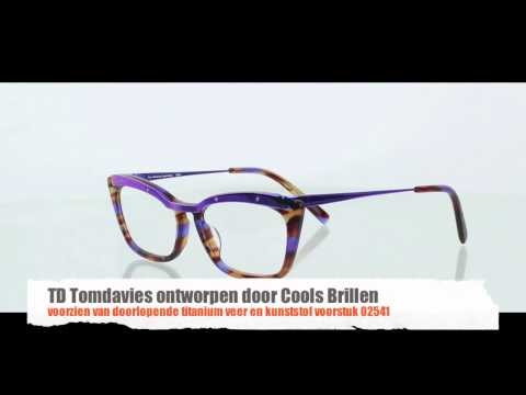 TD Tom Davies 2541 ontworpen door Cools Brillen