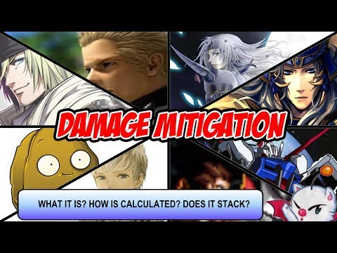 FFBE Global - Damage Mitigation - What it is and how does work