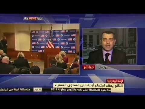 International Lawyer Mahmoud Refaat Russian domination of the Ukrainian crisis on Sky News
