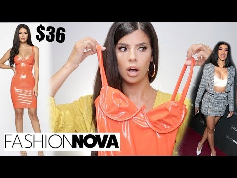 I TRIED $400 WORTH OF CARDI B & FASHION NOVA CLOTHING! thumbnail