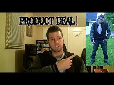 product deal: Greaser/rockabilly style Lee Hanton campus jacket!