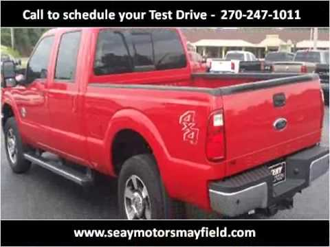 2011 ford f 250 sd used cars mayfield ky youtube for Seay motors mayfield ky