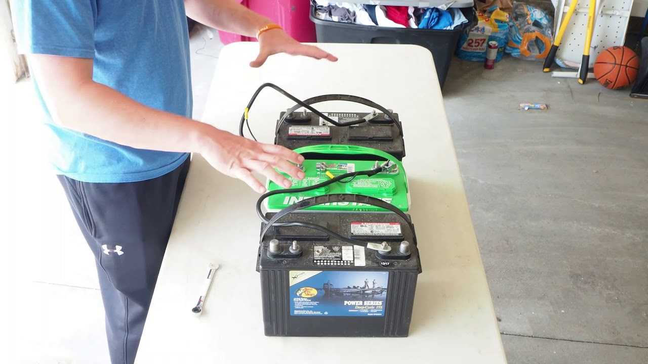 How to Wire a 24V and 36V Battery System Deep -Wiring ...