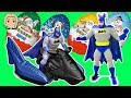 Kinder Surprise Batman - Kinder Eggs - Batman Vs Superman - Batman vs Spiderman (Official HD Video)