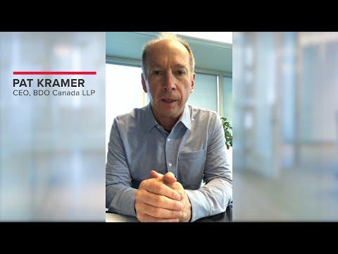Join BDO Canada's CEO Pat Kramer at the Rethink Virtual Conference| BDO Canada
