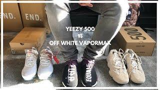 off white x yeezy 500
