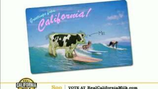 Real California Milk Happy Cow Audition - Soo