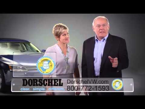 Dorschel Volkswagen thanking customers - comp check