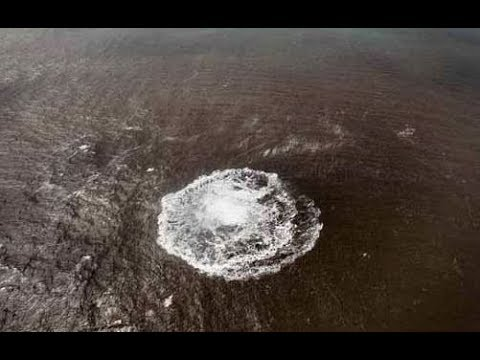 Anomalous Warm Waters in Arctic Did Underwater Volcanoes Awake? (677)