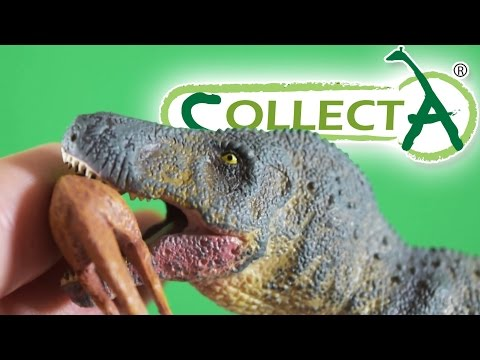 CollectA® T-Rex with Struthiomimus Prey