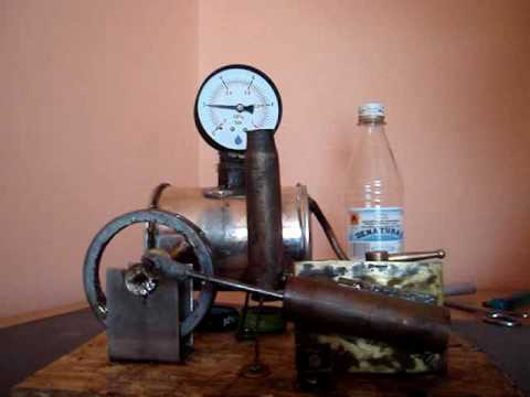 Silnik parowy (steam engine) - YouTube