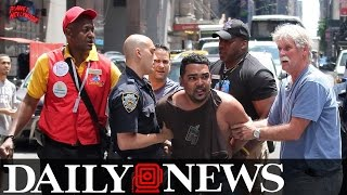 Brave Bystanders 'Knocked' Out Driver In Times Square Crash