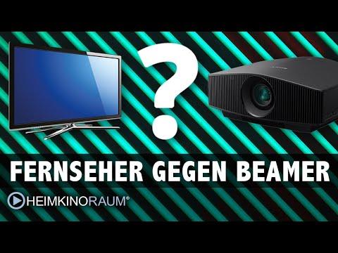 Fernseher gegen Beamer im hellen Wohnzimmer?