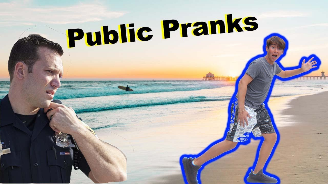 Pranking People at the Beach (COPS Called)