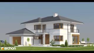 Projekt domu Willa Oliwia - animacja