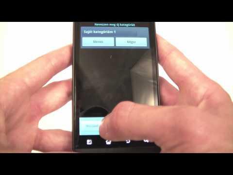 LG Optimus 3D menu and UI