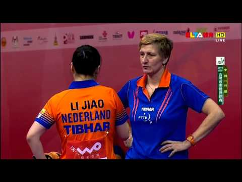2016 WTTTC (WT-QF) China Vs Netherlands [HD] [Full Match/Chi