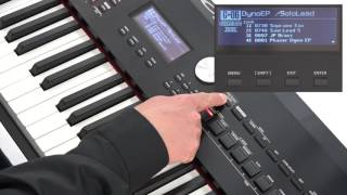 """""""Using One Touch Piano"""" Roland RD-2000 #03"""